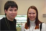 Справа - Наталья Капустина, выпускница АСФ, дипломант II степени. Открыть в новом окне [49,2Kb]