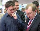 Вячеслав Лабузов и Тимур Куваков. Открыть в новом окне [78 Kb]