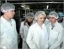 Экскурсия по заводу молочной продукции 'Иволга'. Открыть в новом окне [78 Kb]