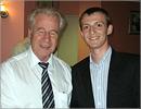 Барри Ален, президент Международной организации по медицинской физике (IOMP), и Дмитрий Муслимов. Открыть в новом окне [77 Kb]