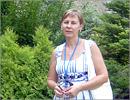 Светлана Нигматянова на экскурсии в региональном БС Волгограда. Открыть в новом окне [77 Kb]