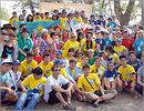 Участники молодежного лагеря 'Соседи-2010'. Открыть в новом окне [79 Kb]