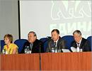 Встреча Юрия Мищерякова со студентами и сотрудниками ОГУ. Открыть в новом окне [72 Kb]