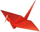 """Схема оригами  """"Журавлик """".  Оригами - потрясающее искусство складывания фигур из бумаги с глубокой историей."""