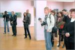 Выставка А. Власенко в выставочном зале ДК 'Россия'. Открыть в новом окне [74Kb]