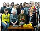 Встреча с ветераном ВОВ Н.Д. Семёновой. Открыть в новом окне [85 Kb]