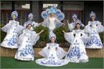 Народный коллектив эстрадного танца 'Жемчужинка'. Открыть в новом окне [77,6 Kb]