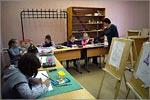 Занятия в студии «Кисточка»