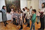 В музее ИЗО на выставке натюрмортов из Государственного Эрмитажа
