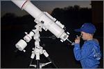 Наблюдение Луны и Юпитера