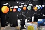 Выставка работ участников конкурса «Мир Космоса»
