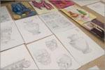 Работы обучающихся студии «Рисунок, живопись, дизайн» направление Архитектура