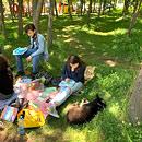 Пленэр в парке «Ивушка»