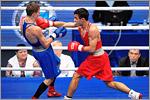 Чемпионат России по боксу, 2016 г. Справа — Габил Мамедов