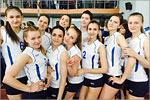 Сборная команда девушек по волейболу. Открыть в новом окне [280 Kb]