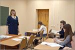 Занятие подготовительных курсов по русскому языку