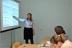 Занятие на курсах по подготовке к ЕГЭ по обществознанию для молодых мам, 2015г. Презентация слайд-шоу