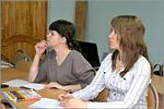 Занятие на курсах по подготовке к ЕГЭ по обществознанию для молодых мам, 2015г.
