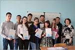 Вручение сертификатов об окончании курсов по подготовке к ЕГЭ по математике