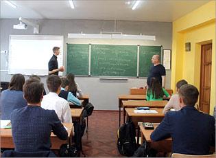 Занятие подготовительных курсов по математике, преподаватель НосовВ.В.