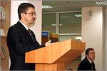 Проректор по информатизации Виктор Быковский. Открыть в новом окне [72Kb]