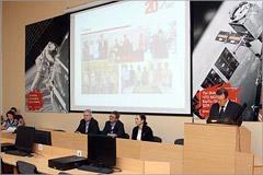 Торжественное собрание, посвященное 20-летию центра информационных технологий ОГУ