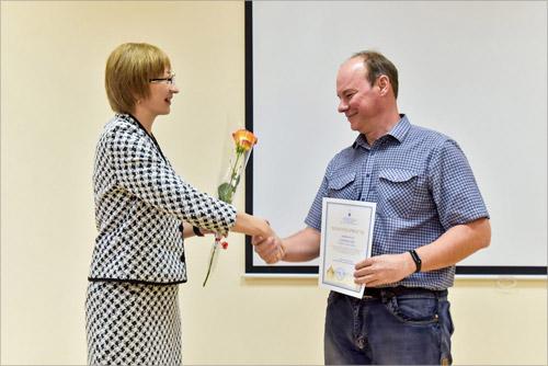 Награждение Романа Кирикова