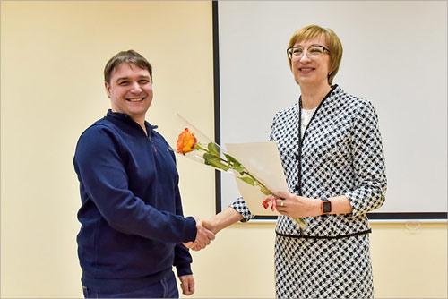 Награждение Павла Налитова