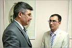 Михаил Кучеренко и Руслан Дюсембаев. Открыть в новом окне [77KБ]
