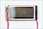 Образец солнечной ячейки Гретцеля, собранной в лабораториях ЦЛИБФ. Открыть в новом окне [99Kb]