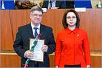 Директор ЦЛИБФ Михаил Кучеренко и ректор ОГУ Жанна Ермакова