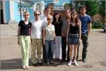 Квинтет из Франции на экскурсии в Саракташе. Открыть в новом окне [95Kb]
