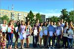 Вручение сертификатов и дипломов DELF, 2014г. Открыть в новом окне [95Kb]