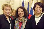 Руководители центра на приеме у посла Франции в России