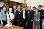 Делегация из Японии в ОГУ, 2010. Открыть в новом окне [66Kb]
