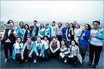 Участники Первого Международного молодежного образовательного форума «Евразия», 2016 год