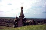 The fragment of a wooden fortress. Открыть в новом окне [11Kb]