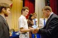 Награждение лучших студентов ОГУ. Открыть в новом окне [71,1 Kb]