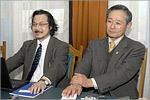 Г-н Исикава Итиё и г-н Кия Кохта. Открыть в новом окне [83,1Kb]