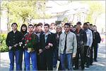 Встреча студентов АКИ с ветеранами в выставочном комплексе 'Салют, Победа!'. Открыть в новом окне [93 Kb]