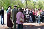 Встреча студентов АКИ с ветеранами в выставочном комплексе 'Салют, Победа!'. Открыть в новом окне [97 Kb]