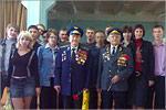 Встреча студентов ЭЭФ с ветеранами. Открыть в новом окне [75 Kb]