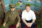 В музее Вязовки c М.П. Мастрюковым. Открыть в новом окне [88 Kb]