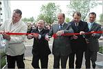 Открытие первой очереди комплекса общежитий ОГУ. Открыть в новом окне [87 Kb]