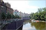 Прага. Набережная Влтавы. Открыть в новом окне [87 Kb]