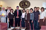 Брифинг с сотрудниками, ответственными за экономическое развитие округа Солт-Лейк, и мэром округа Cолт-Лейк Питером Карруном. Открыть в новом окне [86Kb]