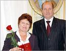 А. Кирьякова и губернатор А. Чернышев. Открыть в новом окне [77 Kb]