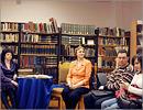 Литературная гостиная, посвященная творчеству писателя Н. Задорнова. Открыть в новом окне [99 Kb]