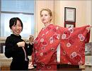 Мастер-класс по одеванию кимоно. Открыть в новом окне [80 Kb]