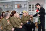 Встреча с ветеранами войны. Открыть в новом окне [70 Kb]